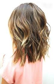 medium length hair styles from the back view back view of wavy medium to short hair hairstyles pinterest