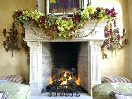 christmas decorated fireplace images decorations decorating ideas