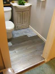 awesome remodelaholic bathroom redo grouted peel and stick floor