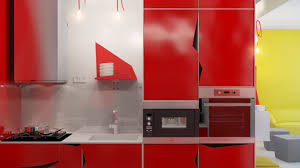 Red And Yellow Kitchen Ideas Red And Yellow Kitchens Agreeable Modular Kitchen Design Ideas