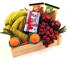 get well soon basket fruit basket gift get well soon chocolates and fruit