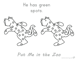 zoo coloring pages preschool awesome zoo animal coloring pages for preschool put me in the zoo