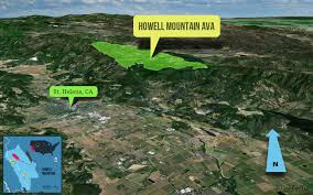 Napa Valley Winery Map Howell Mountain Cabernet From Napa Wine Folly