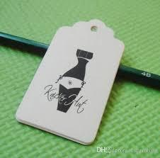 Recycle Paper Business Cards Custom Die Cut Hang Tags Swing Tag Printed 350gsm Laminated Art