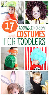 Nerdy Halloween Costumes For Girls by 17 Diy No Sew Costumes For Toddlers Moms And Crafters