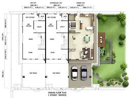 impressive inspiration 4 terraced house plans room plans for a