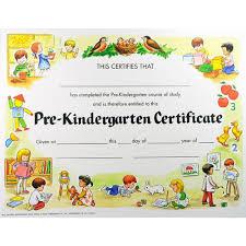 kindergarten certificates pre k certificates of completion home pre kindergarten