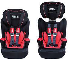 leather reclining group 123 isofix base baby car seat child kids