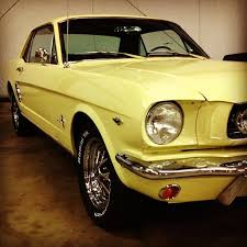 66 mustang coupe parts gorgeous springtime yellow 66 mustang coupe in our shop at cj