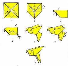 Step By Step Origami For - origami bird step by step how to do origami bird step