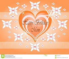 happy birthday mom stock images image 22999034