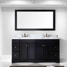 White Bathroom Vanity With Black Granite Top - bathroom vanities you u0027ll love wayfair