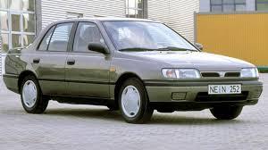 nissan sunny 1991 nissan sunny sedan n14 u00271990 u201395 youtube