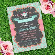 tea party birthday invitation template edit with adobe