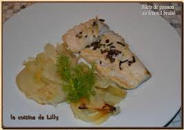 cuisiner fenouil braisé filet de poisson au fenouil braisé la cuisine de lilly
