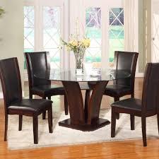camelia espresso round dining set u2013 adams furniture