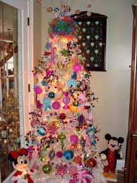 charming decorating ideas s white christmas tree with pink