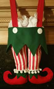 free elf pants christmas stockings pattern and tutorial