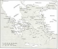 Sparta Greece Map by 13 John R Hale Lords