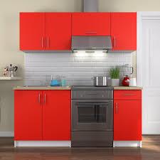 meuble cuisine complet pack meuble de cuisine complete 180cm blanc achat of meuble