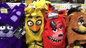 fnaf halloween masks at walmart toy hunting youtube
