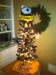 steelers football ornament add something to hang it on tree
