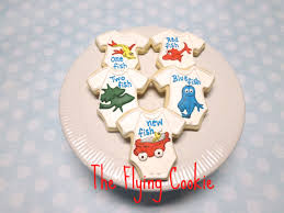 baby shower the flying cookie