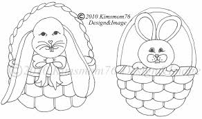 easter bunny baskets easter bunny baskets cookie template cakecentral