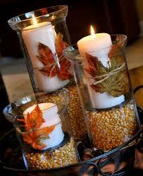 Fall Table Arrangements Easy Fall Table Runner Loversiq
