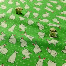 rabbit material uk fabric store bunny rabbit children kids material my fabric house