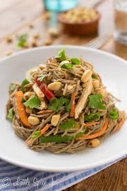 spicy peanut soba noodle salad little spice jar