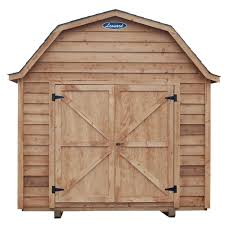cedar u0026 split log storage sheds leonard buildings u0026 truck