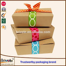 cardboard take away food box chinese food packaging box food