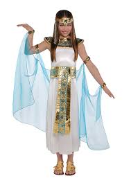 girls christys dress up cleopatra queen of the nile pharaoh fancy