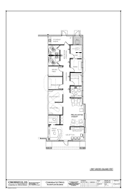 chiropractic office condo suite floorplan with functional