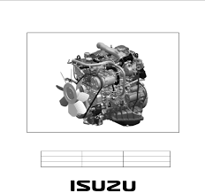 100 4jj1 engine manual