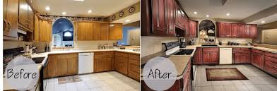 refacing kitchen cabinets before and after images http