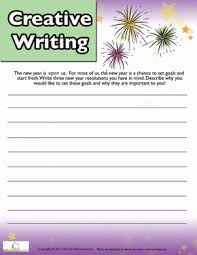 new year u0027s writing prompt worksheet education com
