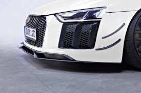 Audi R8 Exterior Audi R8 V10 Plus 2015 U2013 Carbon Front Fins U0026 Carbon Front