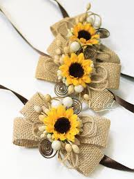 Sunflower Wedding Invitations 10 Rustic Boxed Sunflower Scrolls Wooden Box Sunflower Wedding