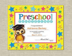preschool graduation diploma preschool diploma templates free mayotte occasions co