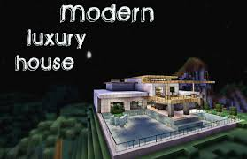 minecraft modern luxury house youtube