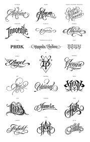 name lettering designs letters font