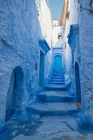 incredible blue color inspirations from chefchaouen moroccan