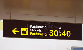 check in desk sign airport check in desk sign stock photo image of check 20261428