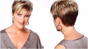 hairstyles for women over 50 with thick necks short haircuts for round faces and thick hair over 50 latest