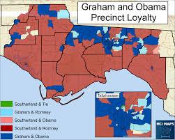 Romney Obama Map The North Florida Way How Gwen Graham Won Fl 02 U2013 Mci Maps