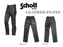 Cowhide Pants Casualshop Joe Rakuten Global Market Schott Shot Leather Pants