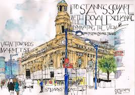 Balboa Naval Hospital Map Countdown To Uskmanchester2016 Royal Exchange St Mary U0027s Gate