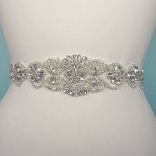 wedding dresses belts shop rhinestone wedding dress belts on wanelo